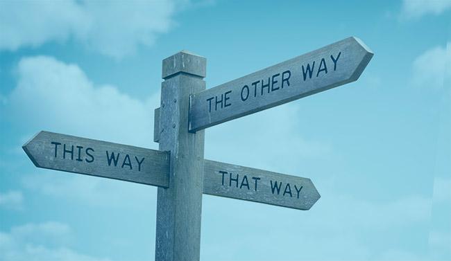 Du behöver inte gå din egen väg