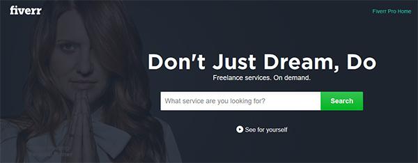tjäna pengar hemifrån som översättare på Fiverr.com
