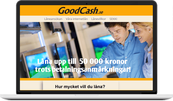 goodcash skärm