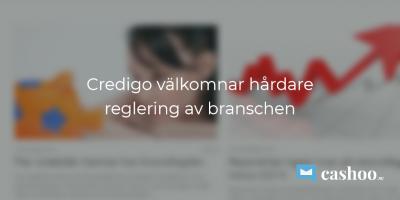 Credigo reglering