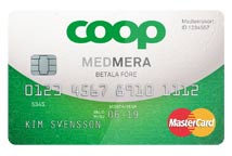 df235d9724e766 Coop MedMera Före Kreditkort, liten kredit, matbonus & rabatter