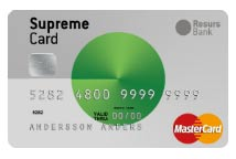 Supreme Card Green