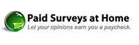 paid-surveys-at-home logo