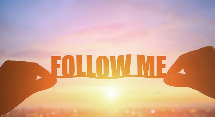 Följare social media