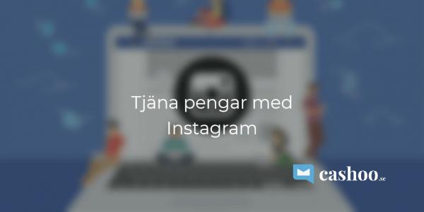 Tjäna pengar med instagram