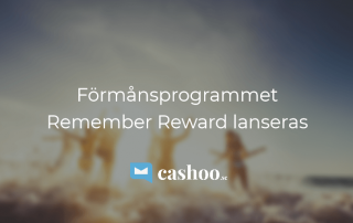 Förmånsprogrammet Remember Reward