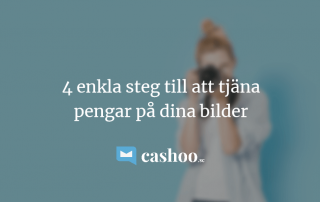 4 enkla steg till att tjäna pengar på dina foton online