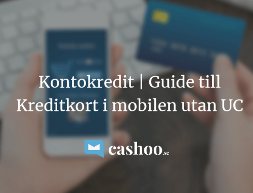 Kreditkort i mobilen 2018 – 5 bästa kontokrediterna utan UC