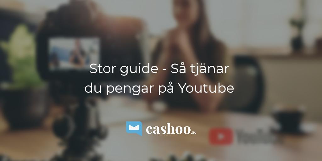 Tjäna pengar på Youtube 2018 – så gör du!