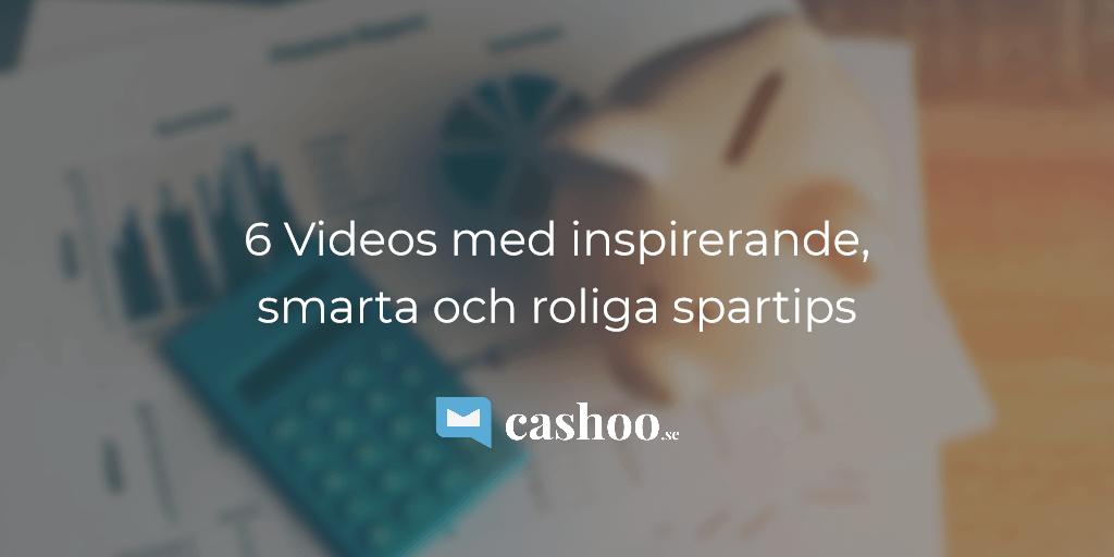 Videos med tips på hur du sparar pengar