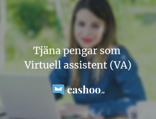 Tjäna pengar som Virtuell Assistent 2018