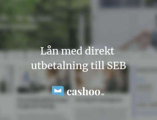 5 snabblån med direkt utbetalning till SEB