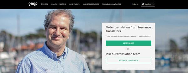 Jobba som översättare på Gengo