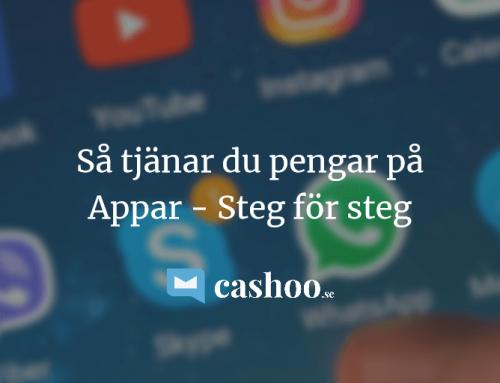 Tjäna pengar på Appar